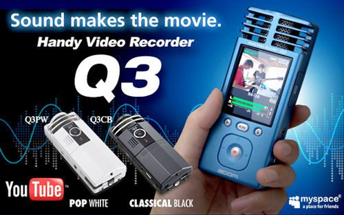 Видеокамера Zoom Q3 Handy Video Recorder