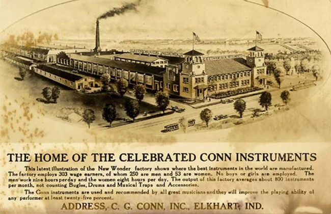Conn Musical Instrument Factory